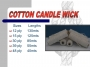 Cotton Candle Wicking